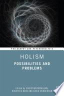 Holism Book