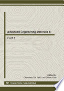 Advanced Engineering Materials II