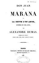 Don Juan de Marana ou la chute d'un ange