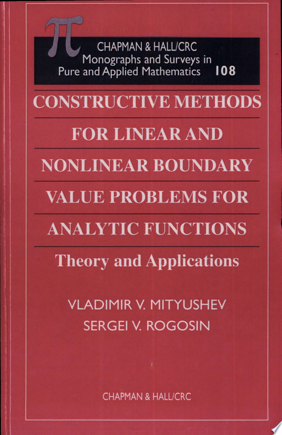 Constructive Methods for Linear and Nonlinear Boundary Value Problems for Analytic Functions