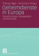 Geheimdienste in Europa