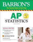 Barron's AP Statistics with Online Tests