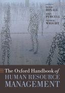 The Oxford Handbook of Human Resource Management Pdf/ePub eBook