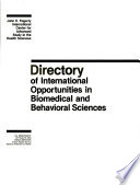 Directory of International Opportunities in Biomedical and Behavioral Sciences