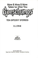 More & more & more tales to give you goosebumps