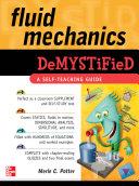 Fluid Mechanics DeMYSTiFied [Pdf/ePub] eBook