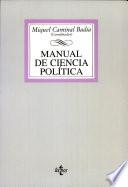 Manual de ciencia política