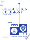 Graduation Ceremony  2 June 1999