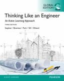 Thinking Like an Engineer  Global Edition Book