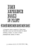 Home Reference Books in Print
