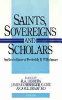 Saints Sovereigns And Scholars