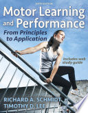 Motor Learning and Performance 6th Edition with Web Study Guide Loose Leaf Edition