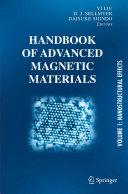 Handbook of Advanced Magnetic Materials
