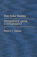 First Strike Stability