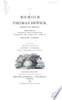 Memoir Of Thomas Bewick Written By Himself