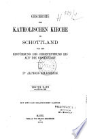 Geschichte der katholischen Kirche in Schottland