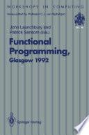 Functional Programming Glasgow 1992