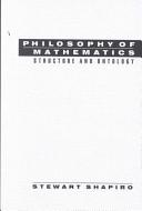 Philosophy of Mathematics Book