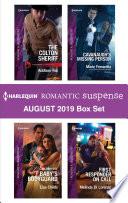 Harlequin Romantic Suspense August 2019 Box Set