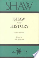 Shaw and History Book