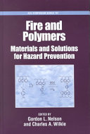 Fire and Polymers Book