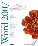Microsoft Office Word 2007 On Demand