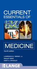 CURRENT Essentials of Medicine  Fourth Edition Book PDF