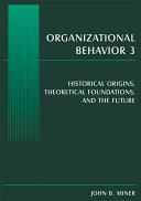 Organizational Behavior 3