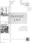 Insdoc List Book PDF