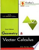 Geometry   Vector Calculus