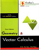 Geometry & Vector Calculus