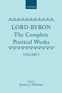 The Complete Poetical Works: Volume 1