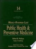 Maxcy-Rosenau-Last Public Health & Preventive Medicine