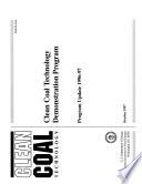 Clean Coal Technology Demonstration Program Book PDF