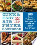Quick   Easy Air Fryer Cookbook
