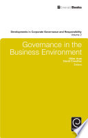 Governance In The Business Environment