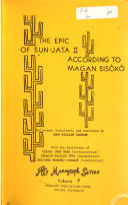 The Epic of Sun Jata According to Magan Sis  k