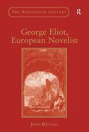 George Eliot, European Novelist Pdf/ePub eBook