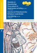 Zweedse En Zweedstalige Finse Auteurs In Nederlandse Vertaling 1491 2007 Een Bibliografie Svenska Och Finlandssvenska F Rfattare I Nederl Ndsk Vers Ttning 1491 2007 En Bibliografi