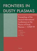 Frontiers in Dusty Plasmas