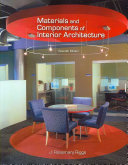 Materials and Components of Interior Architecture Book