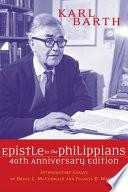 The Epistle to the Philippians
