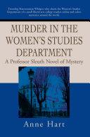 Murder in the Women s Studies Department
