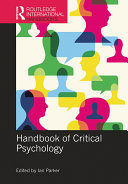 Handbook of Critical Psychology Pdf/ePub eBook