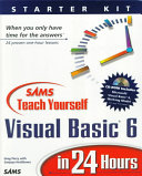 Cover of Sams Teach Yourself Visual Basic 6 in 24 Hours