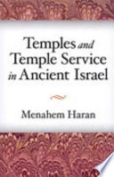 Temples and Temple service in Ancient Israel Book