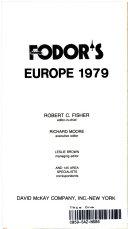Fodor s Europe  1979