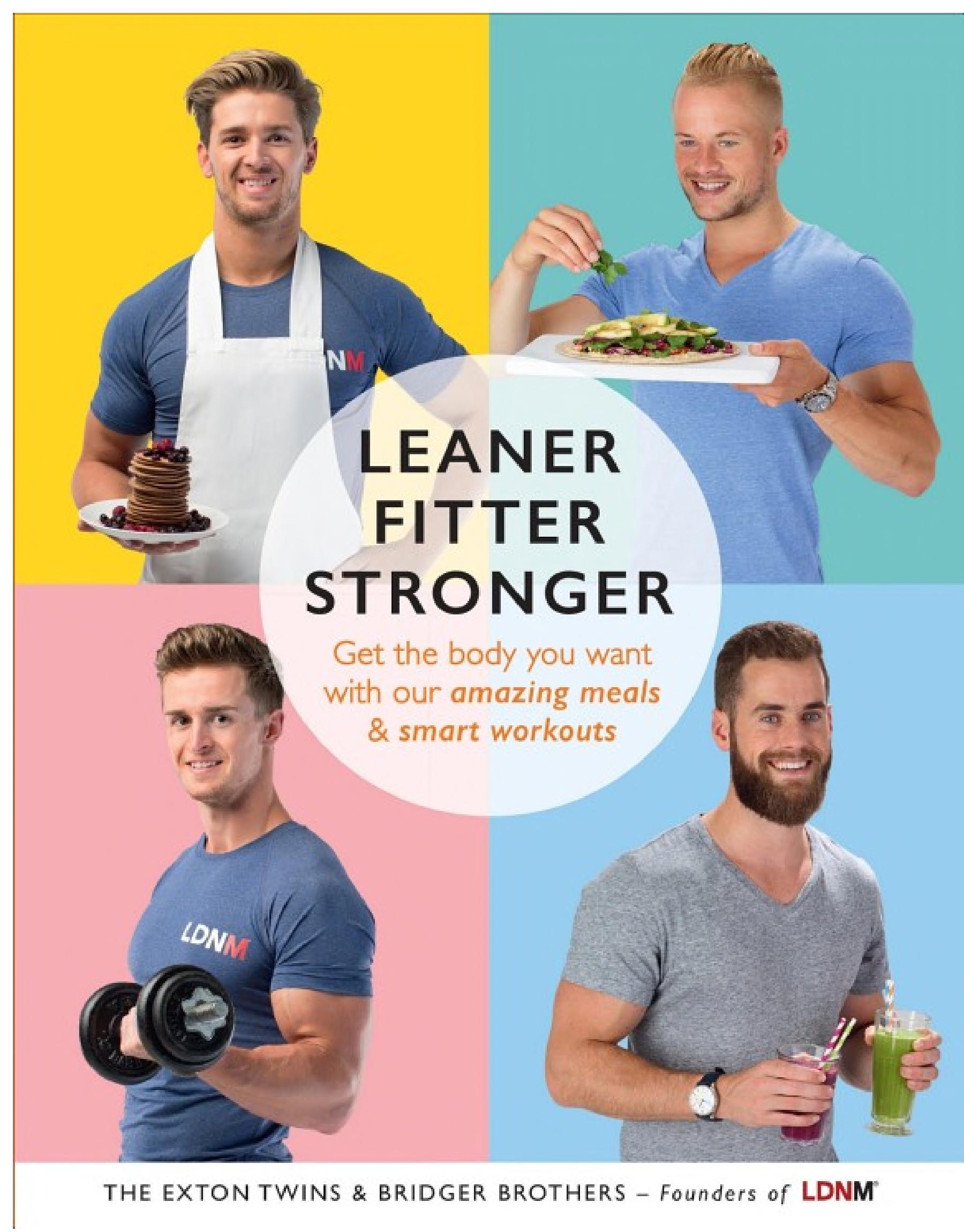 Leaner  Fitter  Stronger