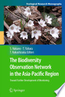 The Biodiversity Observation Network in the Asia Pacific Region