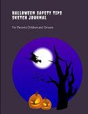 Halloween Safety Tips Sketch Journal